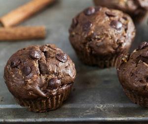 chocolate, muffins, and zucchini image