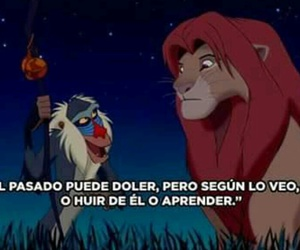 disney, frases, and rey león image