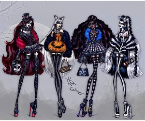 dark beauty, fashion dress clothes, and halloween hayden williams image