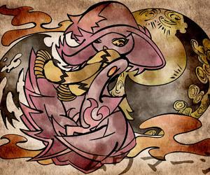 pokemon and mismagius image