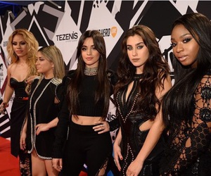 fifth harmony, camila cabello, and lauren jauregui image
