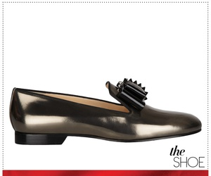 shoe, loafers, and louboutin image