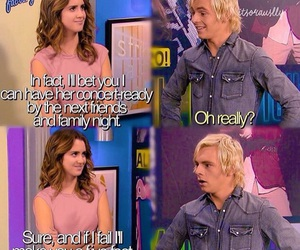 austin and ally, auslly, and raura image