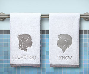 I Love You, star wars, and towels image