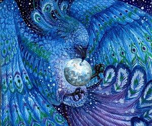 bird and fantasy image