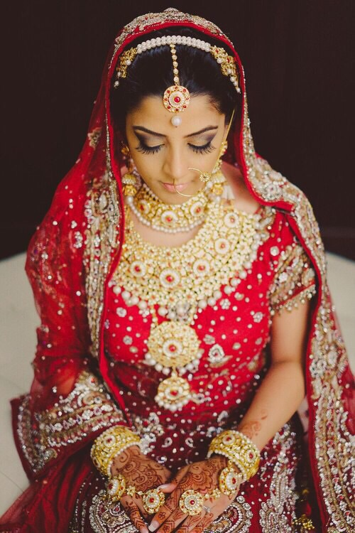 129 Images About Dulhan On We Heart It See More About Bride