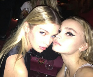 stella maxwell and lily rose depp image