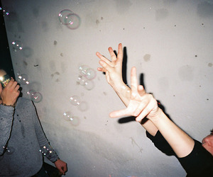 bubbles and disposable image