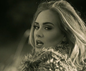 Adele, hello, and music image