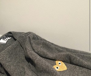 brand, cardigan, and comme des garcons image