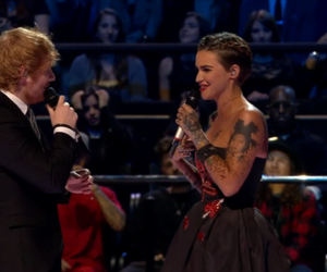 justin, mtv, and ruby rose image