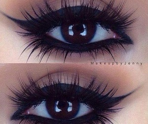 eyes, makeup, and make up image