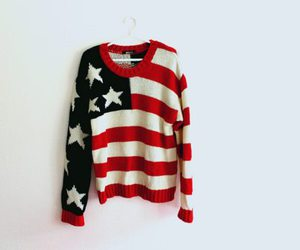 fashion, sweater, and usa image