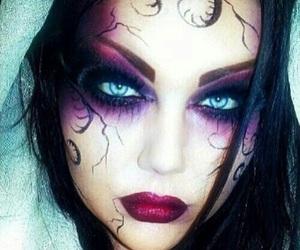 makeup, Halloween, and dia de muertos image