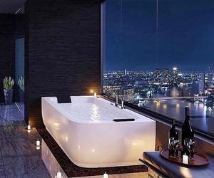 luxury, bathroom, and bath image
