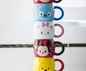 disney, cup, and mickey image