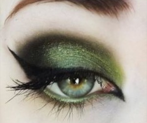 eyes, makeup, and mascara image