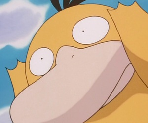pokemon, reaction, and psyduck image