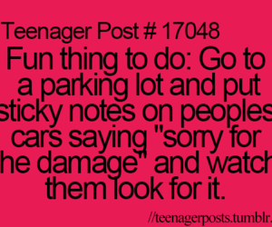 teenager post, funny, and car image