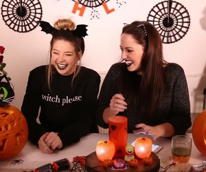 collaboration, Halloween, and zoella image