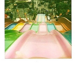 slide, fun, and vintage image