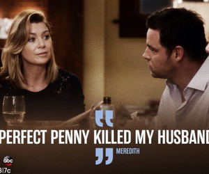 grey's anatomy, meredith, and perfect penny image