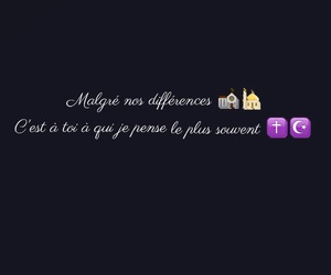 amour, different, and francais image