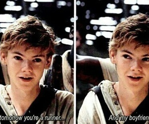 newtmas, newt, and the maze runner image