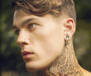 tattoo, stephen james, and Hot image