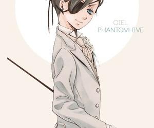 kuroshitsuji, black butler, and boy image