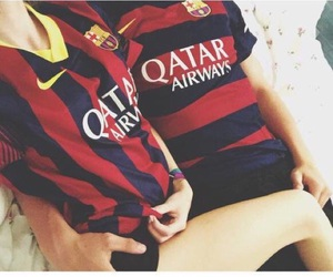 Barca, love, and boyfriend image
