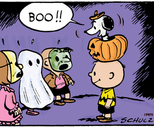 boo, Halloween, and snoopy image