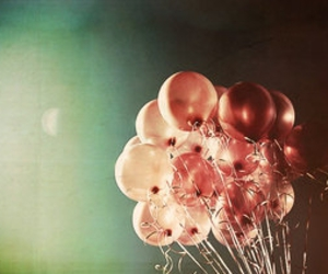 balloons, eerie, and life image