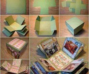diy, gift, and box image