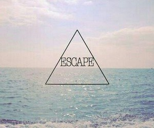 beach, escape, and for image