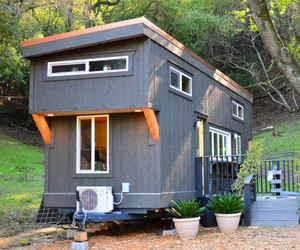 architecture, tiny house, and drawings image