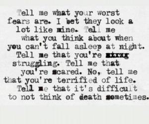 Lyrics, music, and poem image