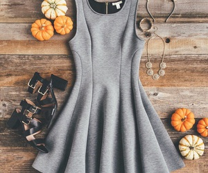 clothes, dresses, and fall image