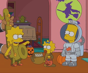 bart simpson, costume, and Halloween image