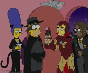 cartoons, costume, and Halloween image