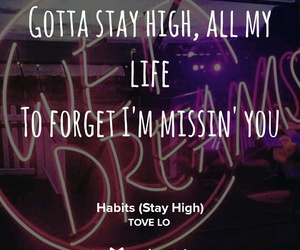 habits, tove lo, and stay high image