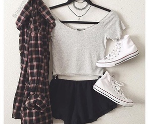 converse, grunge, and white image