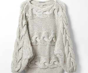 fashion, sweater, and knit image