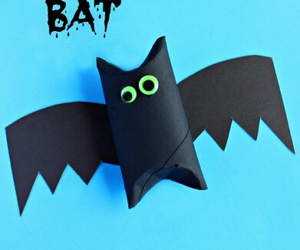 bat, decorations, and Halloween image