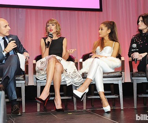 Taylor Swift and ariana grande image