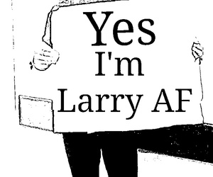 larry and Harry Styles image