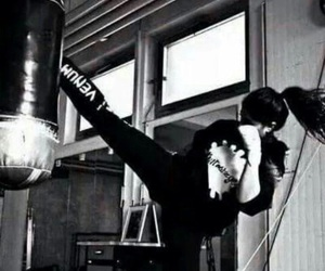 boxing, girl, and training image