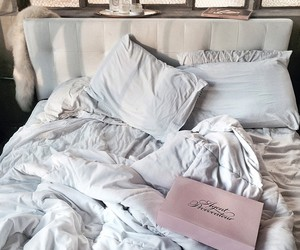 bed, bedroom, and agent provocateur image