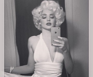 Halloween, miranda kerr, and Marilyn Monroe image