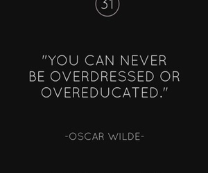 quotes, oscar wilde, and text image
